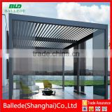 Auto Patio shutter louvre electric gazebo
