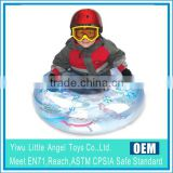 PVC Winter Toys Inflatable snow sledge Snow Tube