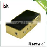 Ismoke authentic electronic cigarette factory chipset wholesale e-cig snowwolf 200watt tc box mod in stock