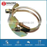 Spiral Double wires hose clamp / copper wire clamps