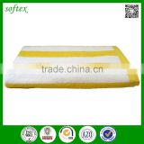 "China factory custom 30""*60'' cotton yellow striped beach towel                                                                                                         Supplier's Choice"