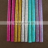 Colorful of Hot melt glue stick with glitter powder