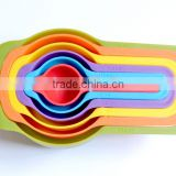 high quality plastic measuring scoops in colors
