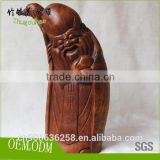Custom bamboo root carving for Chinese culture lovers