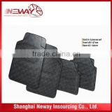Burgundy rubber car mats/universal design car rubber mat/rubber/PVC car mat with high quality