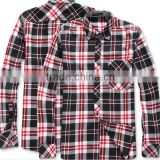 wholesale custom mens new models 100 cotton long sleeve double button collar jacquard shirt dress shirt