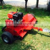 Two type blades selfpower ATV rear flail mower with CE