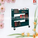 2015 stainless steel mobile cart stainless steel cart with wheels coffee cart furniture with good quality