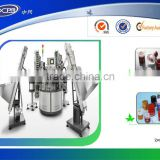 Assembly machine for drinking bottle cap manufacture