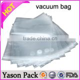 YASON transparent vacuum bag for steamed pork barrier vacuum autoclave aluminum mix printed bags mattress vacuum bag
