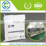 laser Sealed dustless hot sell lint-free semiconductor use polyester cleanroom wiper cloth