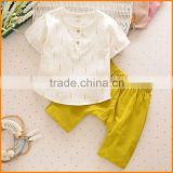 South Korea's children's clothing suit small boys cotton short sleeved shirt boy cotton two set a generation