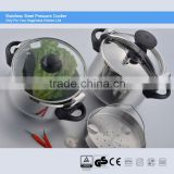 100% safety guarantee s/s brands of pressure cooker CSB 22cm 7L, suitable to induction cooker