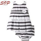 2016 Wholesale Toddler Boutique Clothes Baby Girl Dress Set                                                                         Quality Choice