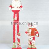 2015 New Product Stretch Plush Toys Christmas Doll - Santa Claus And Snowman For Child Toys, Plush Doll Toys