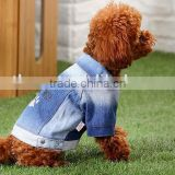 Petlover Jean jacket cooling dog coats
