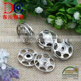 Hot Selling Poppers & Press Studs, Metal Snap Button for Coat and Sweater
