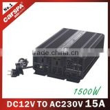 inverter with charger for power back up UPS series 12V DC TO 230V AC 1500W 15A modified sine wave power (UPS1500)