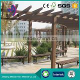 Experienced manufacturer made Waterproof WPC pergola pavilion roof                                                                                         Most Popular