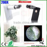 fiber inspection microscope optical led light portable microscope