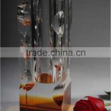 2016 crystal glass types of flower vase wholesale China