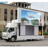 easy install lifetime maintence full color mobile billboard truck digital advertising