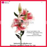 Single Tiger Lily PU Artificial Flower