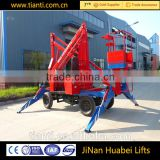 looking for agent articulated hydraulic elevator, industrial construction equipment boom lift