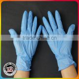 Disposable blue nitrile gloves for examination                                                                         Quality Choice