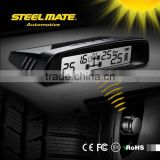 2015 SteelmateTP-S1 solar power tpms 58 psi valve caps pressure indicator, belt cutter led, car hud