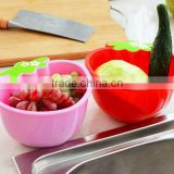 Hot Promotion Kitchen Item fruit Shaped Plastic Saver/Storage Box/Storage Container with Leakage screen
