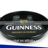 Named brand promotion beer tray with fixed handle
