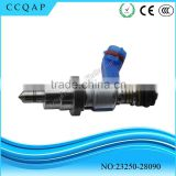 OEM 23250-28090 Avensis Denso auto spare parts lowest discount price fuel injector assy for toyota