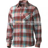 Hot Sale High Quality Cotton Yarn Dyed Mens Casual Shirts/OEM Plaid Flannel Shirt/ Button Down Flannel Jacket Shirts Whole sale