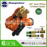 Brass Fitting Expandable Garden Hose Super Quality with New Innovation Inner tube and fitting