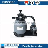 Swimming pool aqua sand filter cleaning pump