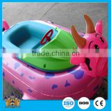 [direct manufacturer] swimming pool / amusement park electric Inflatable bumper kiddie boat/water rides on animal