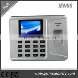 2.8'' colorful LCD screen biometric network RFID card reader cheap price fingerprint time attendance