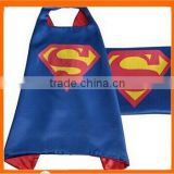 Hot Sale Halloween Kids Super Hero Capes Blue Color Superhero Cap With Masks