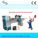 baseball bat/staircase/sofa/bed/chair/table legs automatic cnc wood turning lathe machine for sale