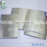 thermal insulation Metalized Aluminum Bubble Insulation Fireproof Bubble Insulation Aluminum Foil Bubble For Roof or Wall