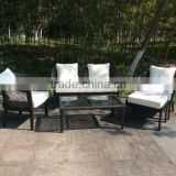 Patio Furniture Set Cushioned Outdoor Wicker Rattan Garden Sofa Seat
