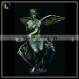 Antique Bronze,Brass,Cast Iron Metal Angel Statues