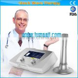 Latest Portable SWT Extracorporeal Shock Wave Therapy Equipment for Orthopedics Rehabilitation and Physiotherapy