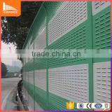 Highway or High-speed Railway Fireproof Metal Sound Barrier Fence