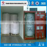 leather tanning chemicals 70% sodium hydrosulphide red flakes