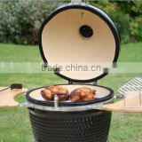 Ceramic Kamado Smoker Charcoal BBQ Barbecue Grills with carts