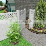 U.S. ASTM Certified cheap models of gates and PVC fence/ pvc fencing panels/ edging palisade vinyl privacy Garden Fence