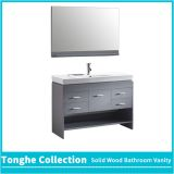 48'' Grey Bathroom Vanity Resin Basin Big Storage Space