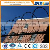 Galvanized Razor Barbed Wire/bto-22 Razor Barbed Wire factory twist weave barded wire fencing
